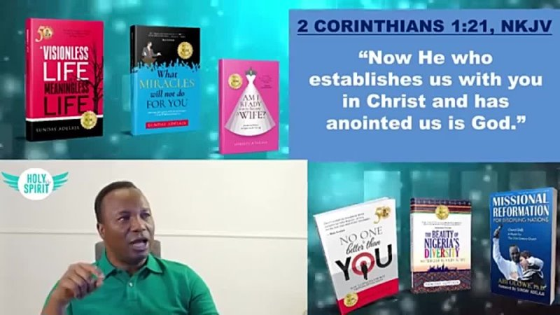 57 2019 01 25 ANOINTED FOR SERVICE HOW TO KNOW GOD THROUGH THE HOLY SPIRIT