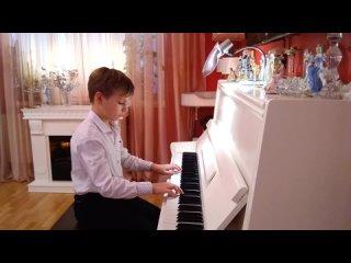 П.И. Чайковский, Вальс, исполняет Казакова Марина