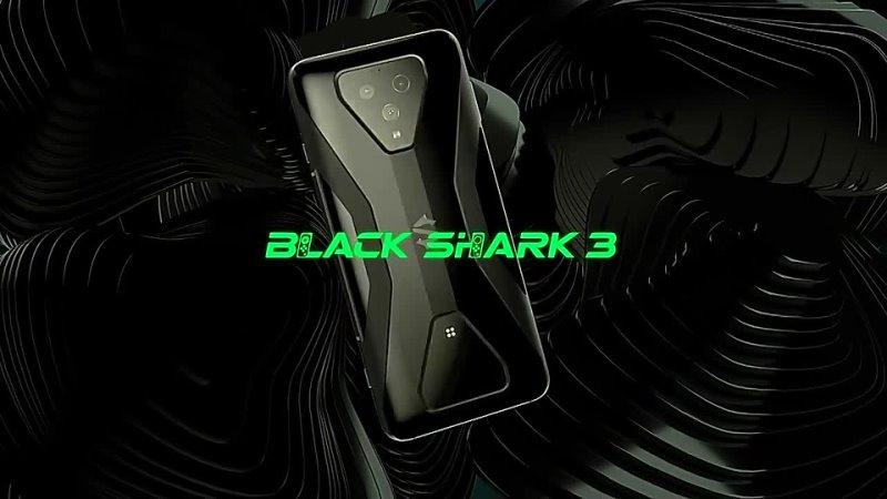 Оригинальный Xiaomi Черная Акула 3 глобальная Версия 8G 128G