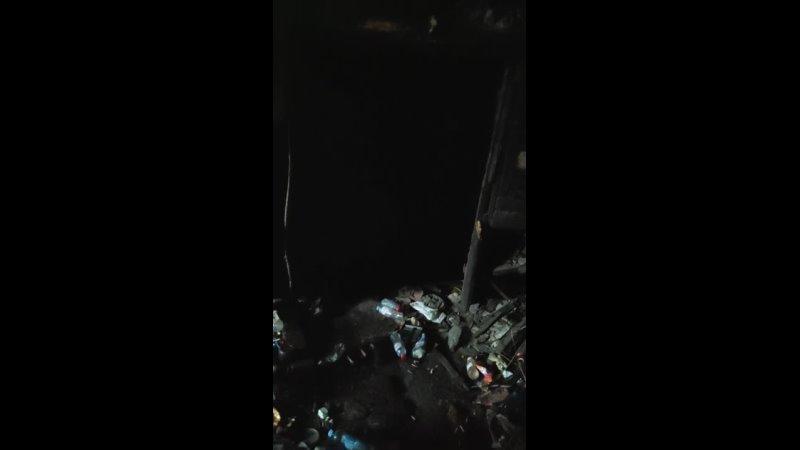 Заброшка течёт подземной рекой Привет ценам за коммуналку