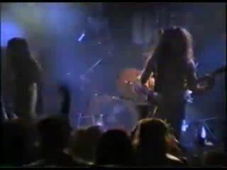 1995 Алик Грановский, группа Мастер, в телешоу Железный марш