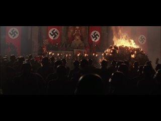 Indiana Jones and the Last Crusade, Der Königgrätzer Marsch Book Burning scene