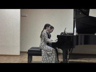 П.Чайковский. Вальс из балета Спящая красавица. Выборова Аделина и Кривошеина Светлана