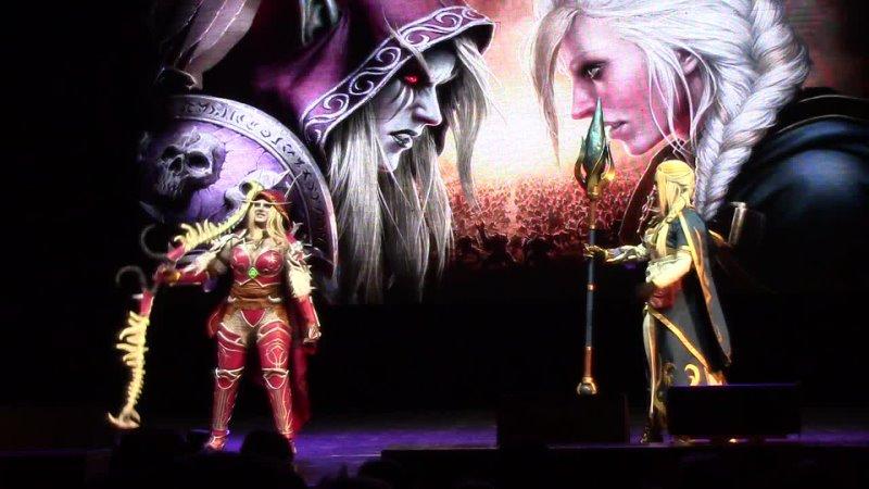 MadHouse World of Warcraft Jaina Proudmoore Sylvanas Windrunner Владивосток