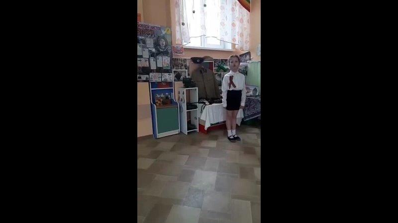 Стихотворение А. Усачева читает Ермилова Вика, воспитанница детского сада №134.