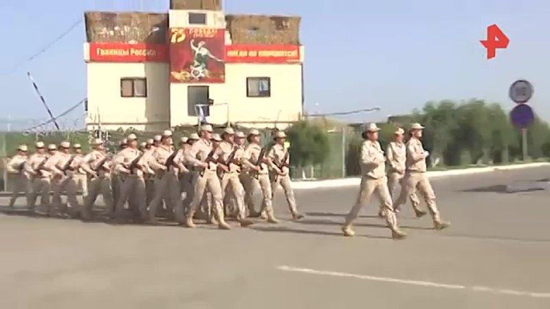 Женщины-военнослужащие готовятся к Дню Победы в Сирии