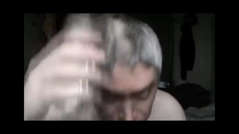 Гена Горин бреется налысо