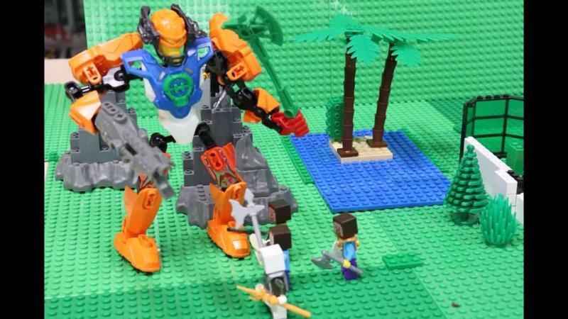 Лего-мультик Битва за дом. Мультстудия БРИО. Чебоксары
