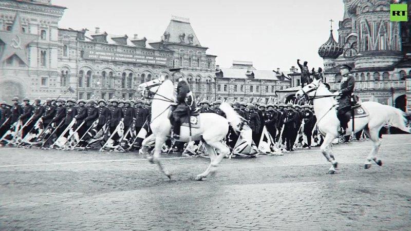 Внимание говорит Москва как прошёл первый парад Победы 1945 го на Красной площади 001 001