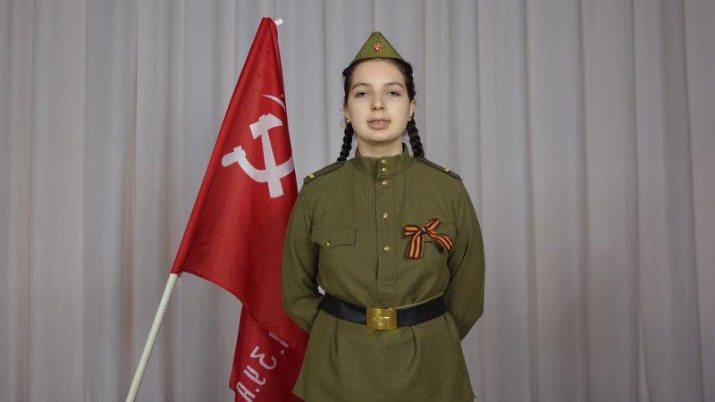 Ю.Друнина На носилках, около сарая - Алина Горбачева, 17 лет, с.Териберка