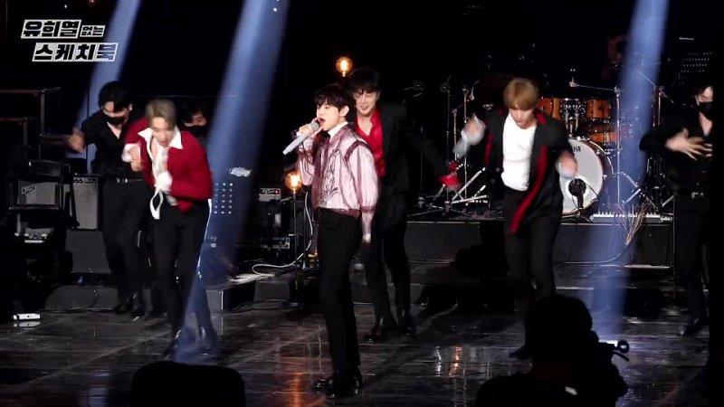 [FANCAM] Highlight - Beautiful night Plz dont be sad [You Heeyeol's Sketchbook] _ KBS 210508