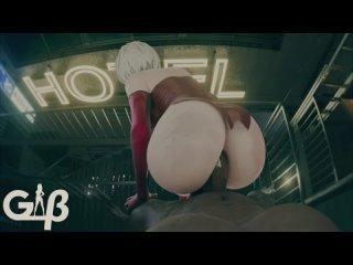 2b 3d sex hentai pov porn xxx generalbutch