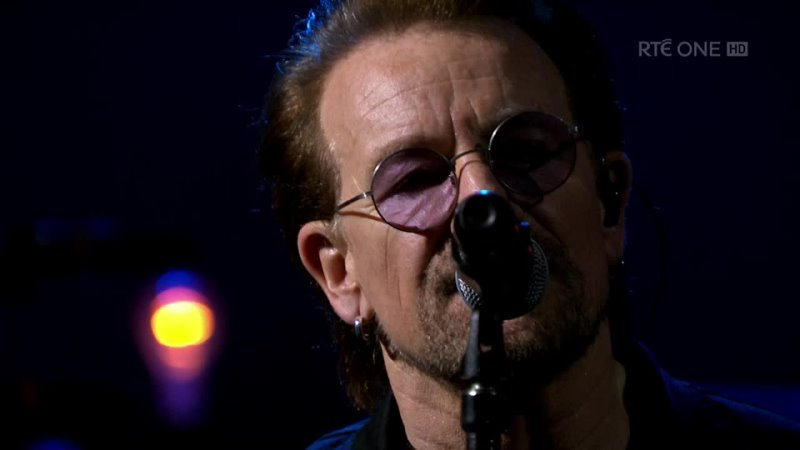 U2 Live in London at The BBC RTÉ One HD Edition