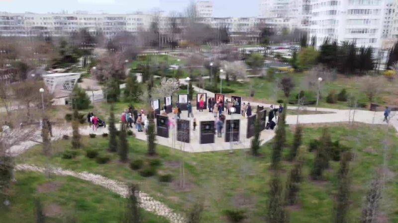 Сеть Уличных Галерей Севастополь с высоты