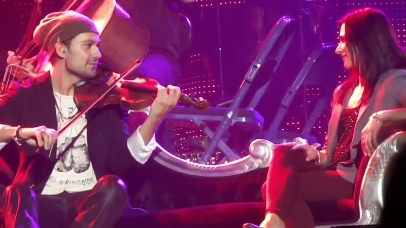 David Garrett Stop Crying Your Heart Out an unforgettable moment for Nicola