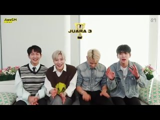 -SMTOWN Indonesia - SHINee -   SHINees reaction to Indonesian shawols contents