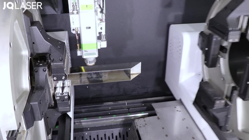 三卡盘激光切割机FLT 6020ET лазерная резка