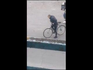 Когда бухой батя взял твой велосипед