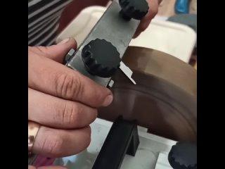 Заточка ножей для оверлока 😍