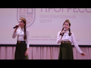 Меркулова Алиса и Гайфуллина Азалия Туган Як