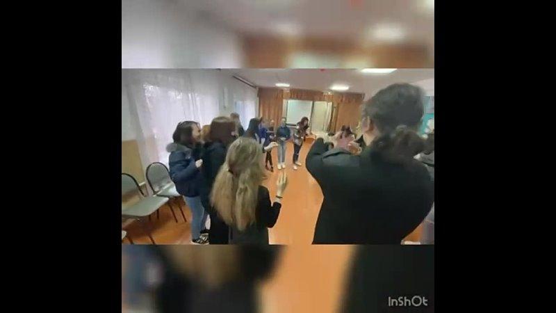 Флешмоб Паутина mp4