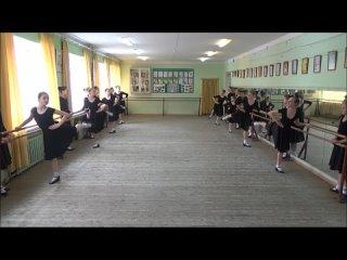 Класс-концерт по народному танцу 6 год обучения 2021 год