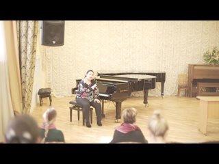 Мариам Мерабова - Лекция «Вокальные техники в современной популярной музыке» [2018]