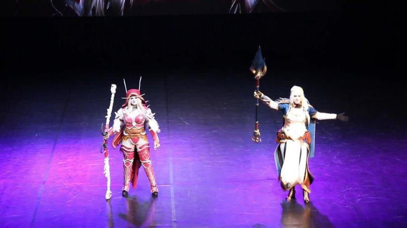 008 MadHouse World of Warcraft Jaina Proudmoore Sylvanas Windrunner