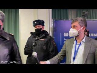 В Москве полиция пришла на форум муниципальных депутатов. Задержали Владимира Кара-Мурзу, Илью Яшина и Евгения Ройзмана