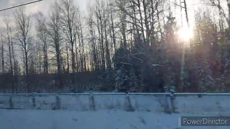Сапсан Питер Москва Зима снежная HD