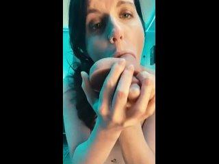 Приняла Член Прямо в Глотку   Deepthroat Porn   Горловой Минет Порно It made my eyes water 🥺