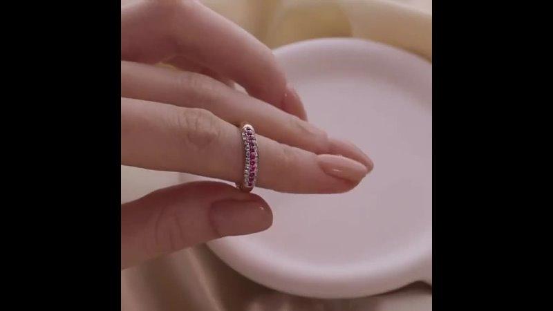 ДВОРЕЦ ОБРУЧАЛЬНЫХ КОЛЕЦ's Instagram video Рубин носят бабушки или молодые обольстительницы 💃🏻🍷💄♥️ Рубин драгоценный камен