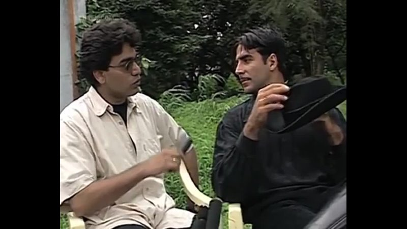 На съёмках фильма Sangharsh Криминальный роман 1999