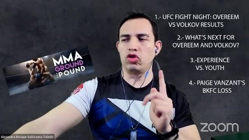 MMA Ground and Pound with Enrique Solorzano