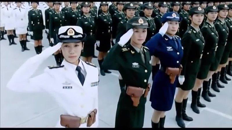 Девушки китайского спецназа Убийственная красота