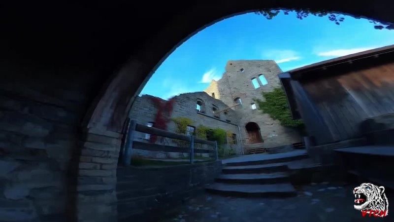 Замок с привидениями (паркур). WIB3X - You Know (Original Mix)