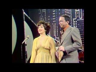 """8-й телевизионный фестиваль """"Песня года,1978 г."""" Ведущие: Светлана Жильцова и Александр Масляков."""