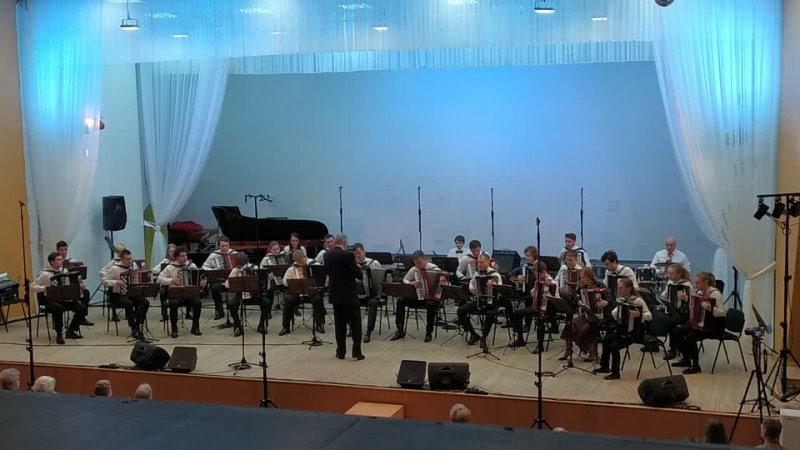 вальс РАВНОДУШИЕ, Т.Мурена, Дж.Коломбо, оркестр Гармоник (СПб)