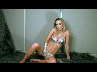 Goddess Platinum - Let Me Own You [Femdom, Humiliation, Blonde, Big Tits, Bikini, Shiny Clothing, POV, Foot Fetish, High Heels]