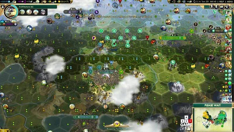 IsoPanzer Civilization 5 Божество Летсплей Китай Часть 10 Начало осады Дублина