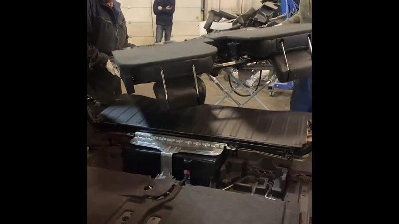 Техцентр Volvo Degrimotors Volvo XC90 2014 год ⚙️ Установка 3 го ряда сидений 🦾 Стоимость комплекта б