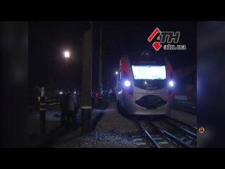 Авария поезда Intercity+. Киев - Запорожье