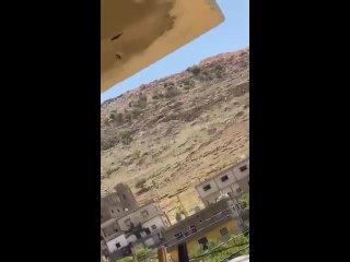 Полчища саранчи замечены сегодня в Ливане в районе долины Бекаа.