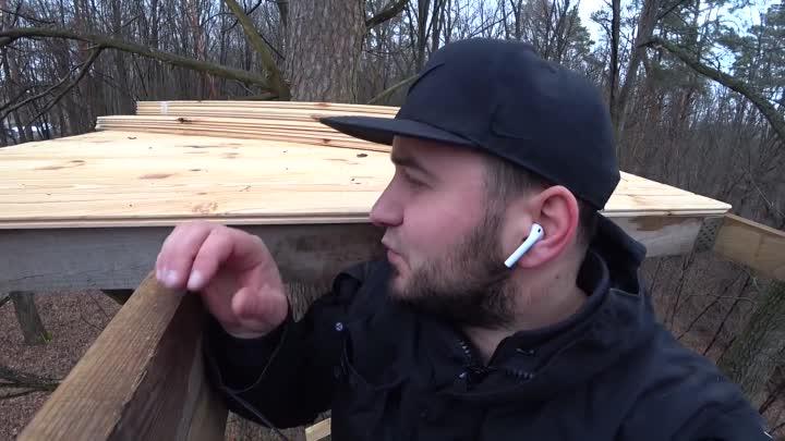 [Сергей Трейсер] Построил дом на дереве , пол готов , начал делать стены 2ч