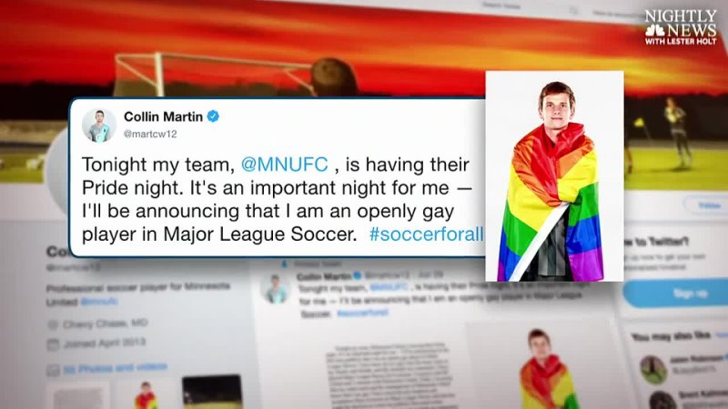 Pro soccer player Collin Martin comes out as gay 'I'm proud'