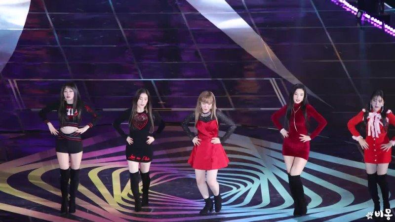 02.12.17 Red Velvet - Peek-A-Boo @ 2017 MelOn Music Awards