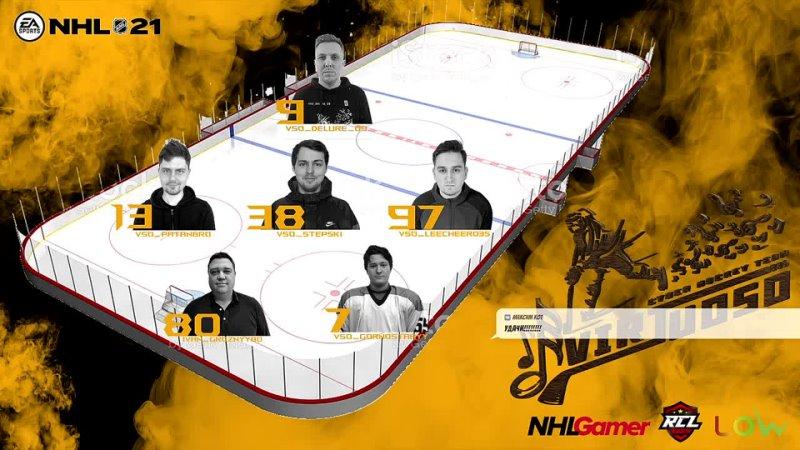 NHL 21 RCL 8 Pro Virtuoso vs HC Yaroslavl BEARS