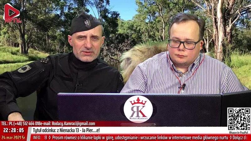 Z Nienacka o 13 Śr 24 03 2021 Marcin Osadowski Wojciech Olszański