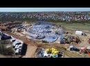 Аквапарк ЖК Колизей. Апрель 2021 года.