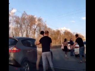 Драка на трассе Казань